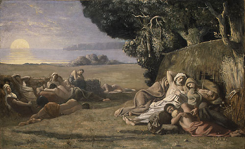 Pierre Puvis de Chavannes' Sleep